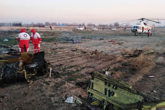 İran'dan füzeyle düşürülen uçakla ilgili gözaltı kararı