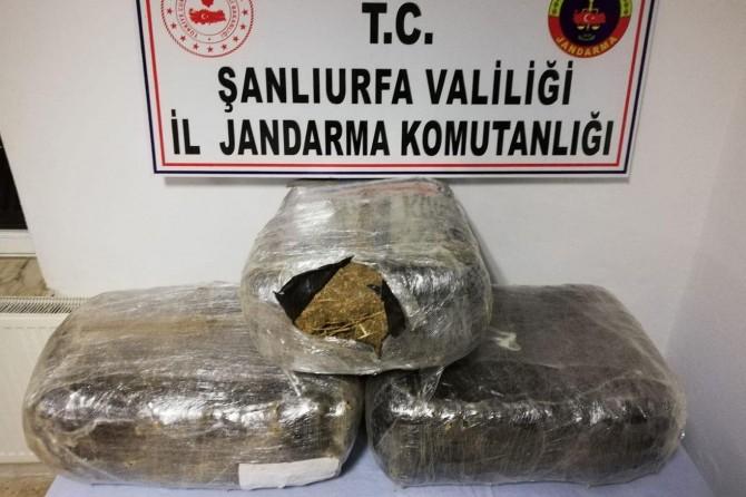 Şanlıurfa'da narko-terör operasyonu: 3 tutuklama
