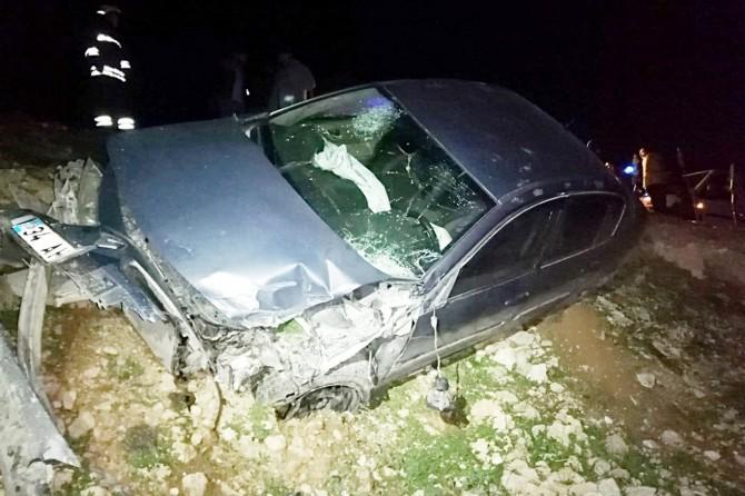 Kızıltepe'de trafik kazası: 4 yaralı