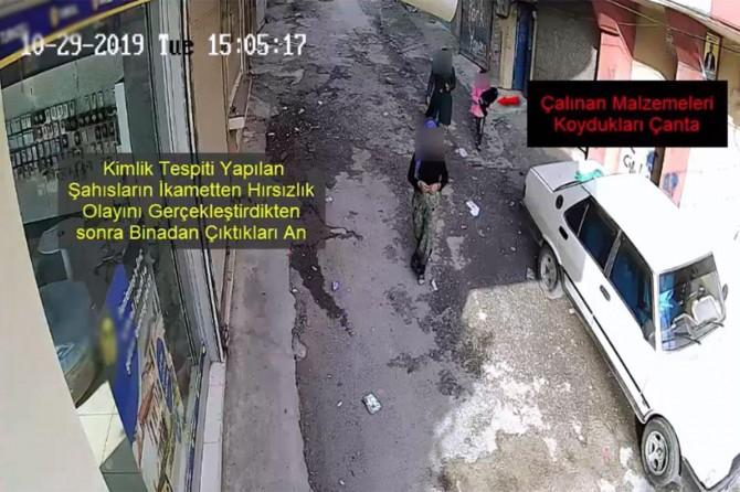 Evlerden ve araçlardan hırsızlık yapan 3 şüpheli tutuklandı