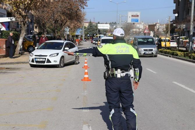 Gaziantep'te trafik kurallarını ihlal eden 986 sürücüye para cezası