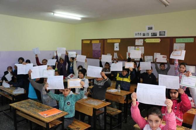 Şanlıurfa'da 650 bin öğrenci karne aldı