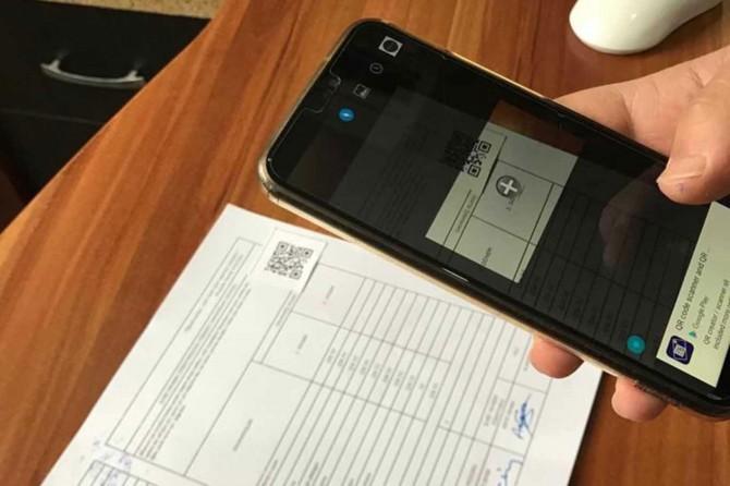 Okul müdüründen QR Kod uygulamasıyla anlamlı mesaj