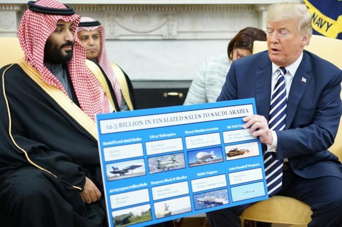 Suudi rejimi ülkeyi koruyan askerler için ABD'ye 500 milyon dolar ödedi
