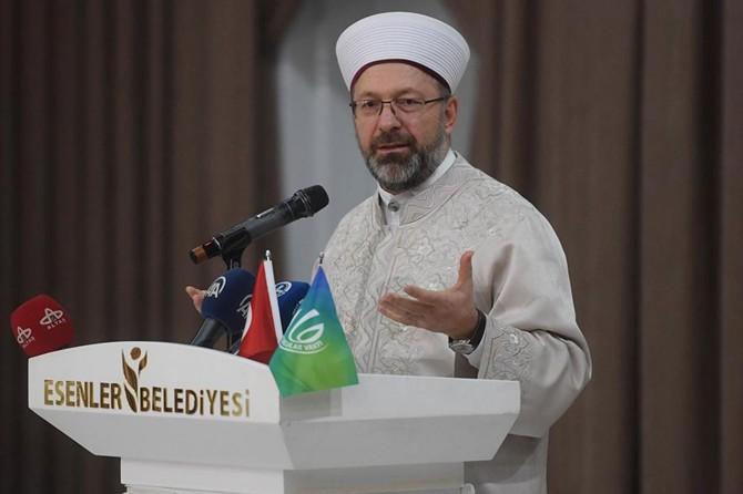 Diyanet İşleri Başkanı Erbaş'tan TOKİ açıklaması