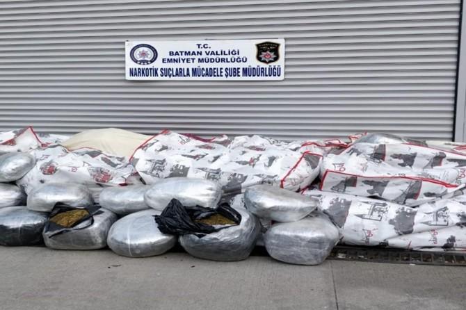 Batman'da uyuşturucu ticareti yapan 100 şüpheli tutuklandı