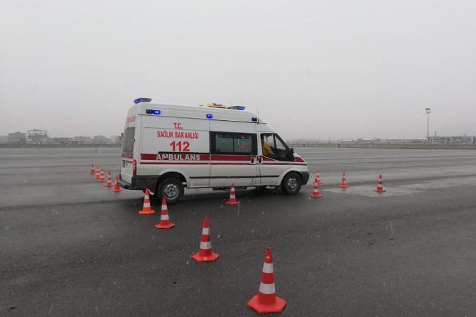 Batman'da ambulans sürüş teknikleri eğitimi verildi