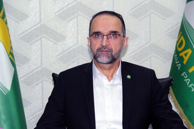 HÜDA PAR Genel Başkanı Sağlam'dan Nakşibendi Şeyhi için taziye mesajı