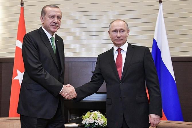 Erdoğan ve Putin Berlin'de bir görüşme yapacak