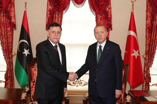 Cumhurbaşkanı Erdoğan, Serrac ile görüştü