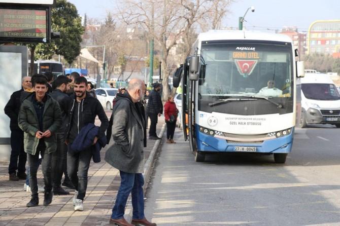 Gaziantep halkı: Otobüs ve sefer sayılarının artırılmasını istiyoruz