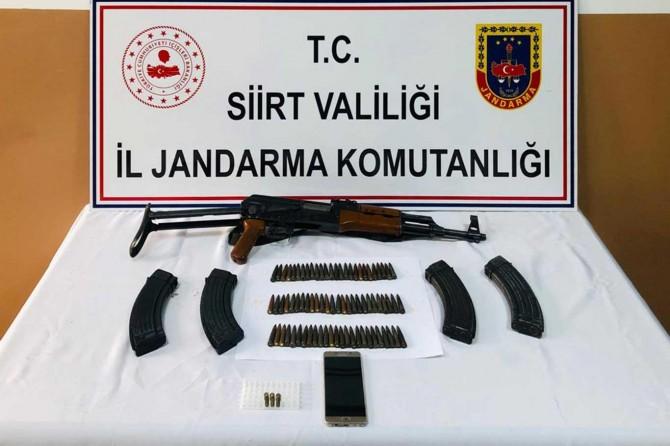Silah ve mühimmat kaçakçılarına baskın