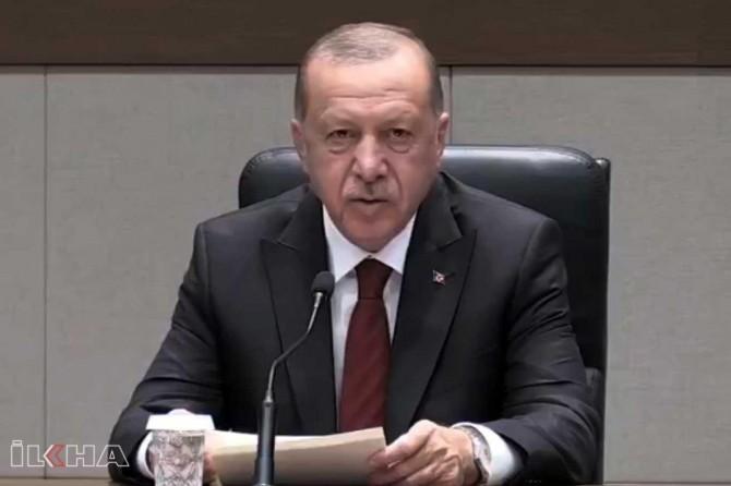 """Cumhurbaşkanı Erdoğan: """"Hafter şu ana kadar metinlere imza atmış değil"""""""