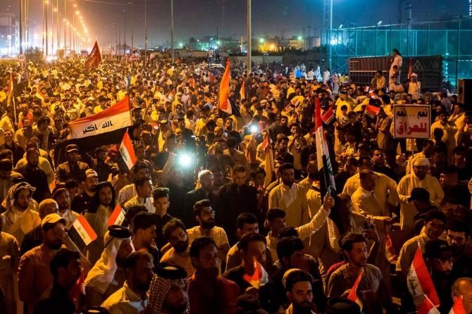 Li Iraqê xwepêşan berdewam dikin: 4 mirî 60 birîndar