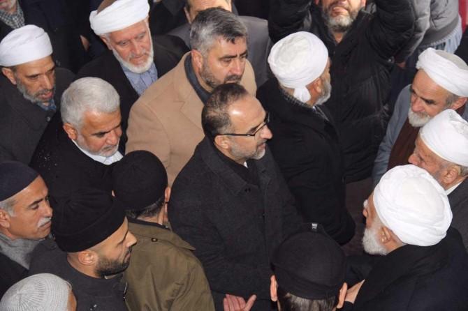 HÜDA PAR Genel Başkanı Sağlam Şeyh Abdülkerim Çevik'in taziyesine katıldı