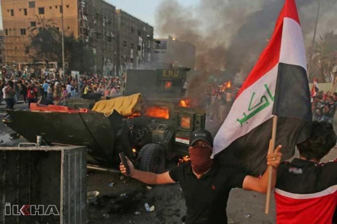 Irak'taki protesto gösterilerinde 6 kişi daha hayatını kaybetti