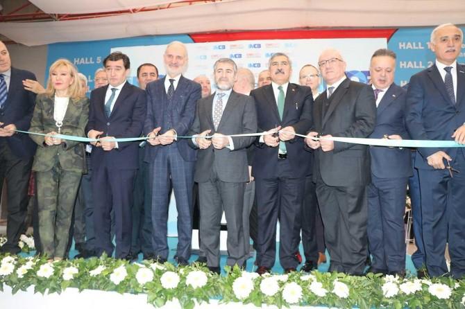 CNR İMOB Uluslararası İstanbul Mobilya Fuarı bugün açıldı