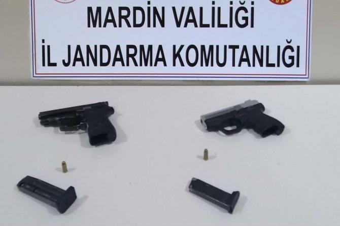 Nusaybin'de silah kaçakçısı suçüstü yakalandı