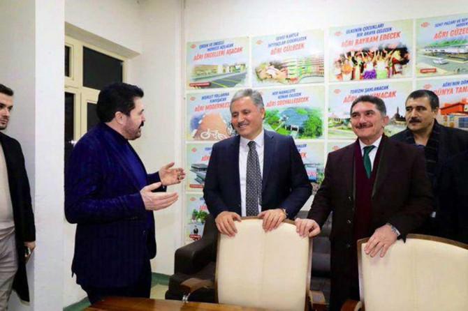 AK Parti Yerel Yönetimler Başkan Yardımcısı Çakır'dan Ağrı Belediyesine ziyaret