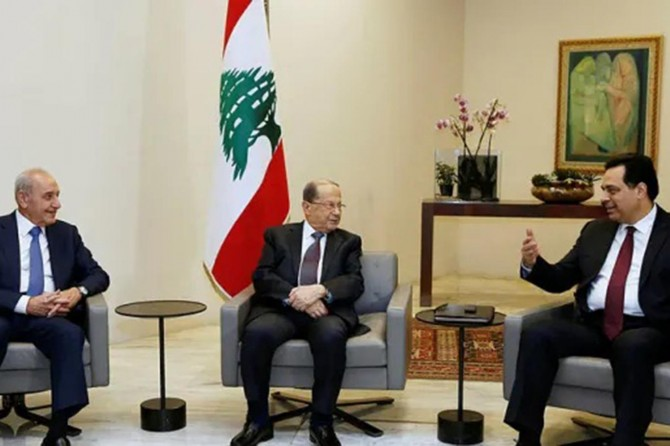 New prime minister announces the government's cabinet line-up in Lebanon