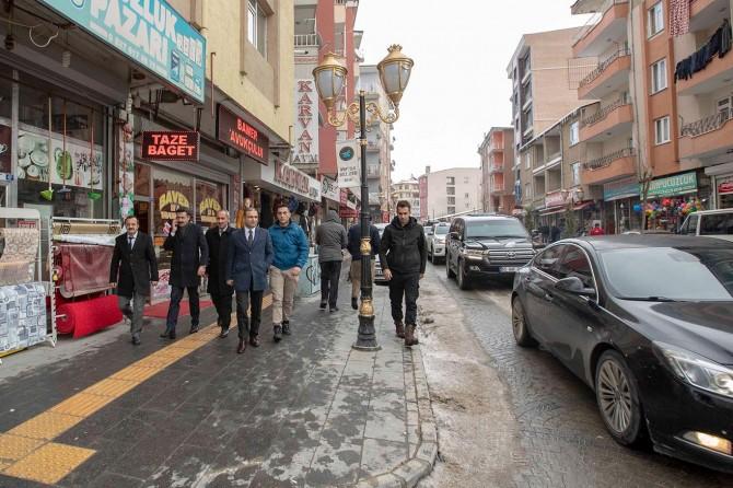 İpekyolu Belediye'sinden esnaf ziyaretleri devam ediyor