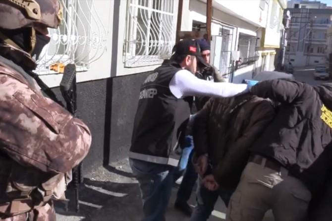 """Gaziantep'te """"torbacı"""" operasyonunda 37 şüpheli gözaltına alındı"""
