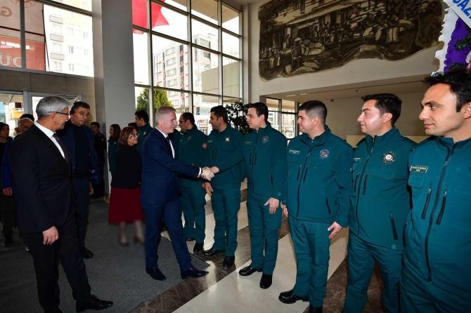 """Gaziantep Valisi Davut Gül: """"Gümrükler iç piyasadaki haksız rekabeti önlüyor"""""""