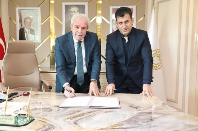 Artuklu Belediyesi ve Tapu Kadastro arasında işbirliği protokolü