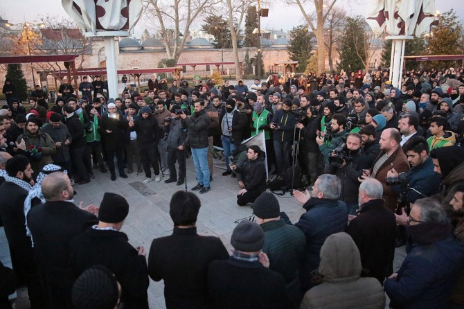 STK'lardan Kudüs Müftüsü Sabri'nin Mescid-i Aksa'ya girişinin engellenmesine tepki