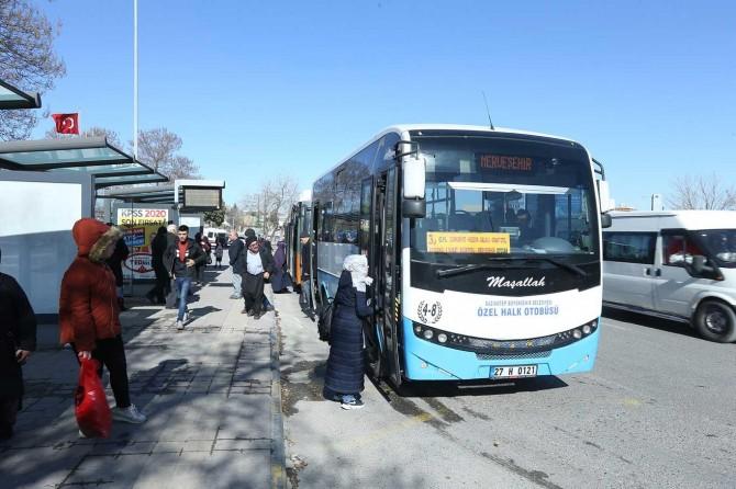 Gazianteplilerin toplu taşıma araçlarına ilişkin talepleri dikkate alındı