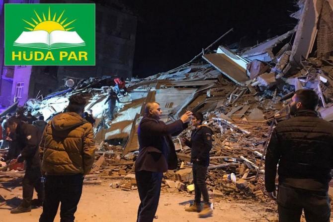 HÜDA PAR: Depremzede kardeşlerimize Ensar olmak hepimizin görevidir