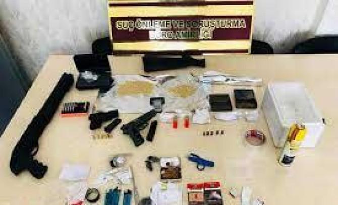 Asayiş uygulamaları ve denetimlerinde aranan 110 kişi yakalandı