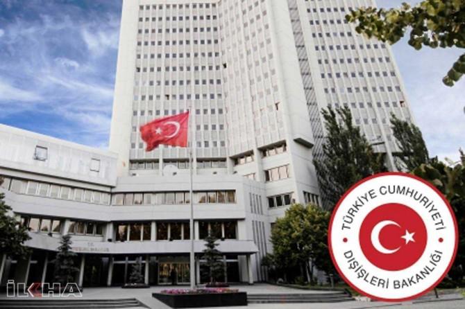 Dışişleri Bakanlığı Sözcüsü Aksoy'dan, Şeyh İkrime Sabri'nin Aksa'ya giriş yasağına tepki