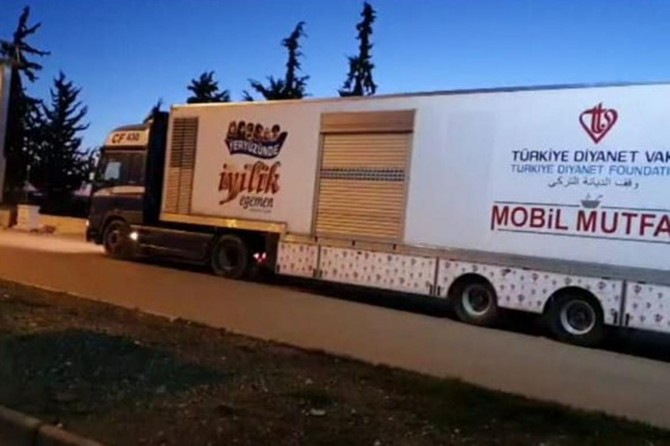 TDV'den Elâzığ ve Malatya'daki depremzedelere destek