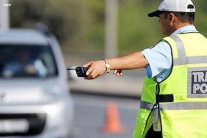 Gaziantep'te 4 bin 346 sürücüye para cezası kesildi