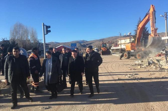 Bağlar Belediye Başkanı Beyoğlu deprem bölgesine gitti
