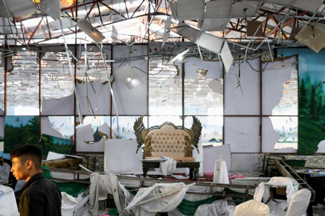Afganistan'da düğüne el bombalı saldırı: 20 yaralı