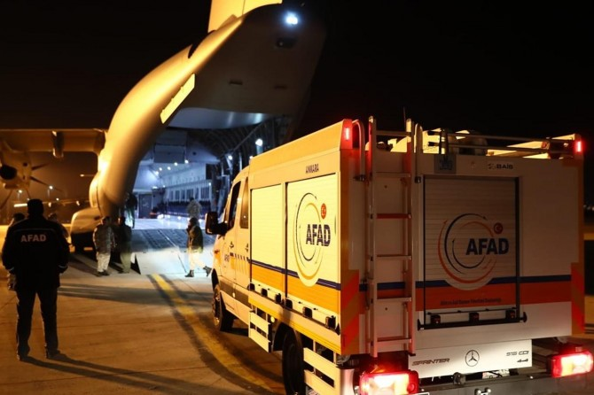 Elâzığ depremine ilişkin AFAD son gelişmeleri paylaştı