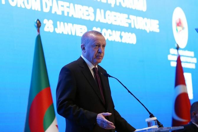 """Cumhurbaşkanı Erdoğan: """"Afrika ülkeleriyle ticaretimizi 50 milyar dolar seviyesine taşıyac"""