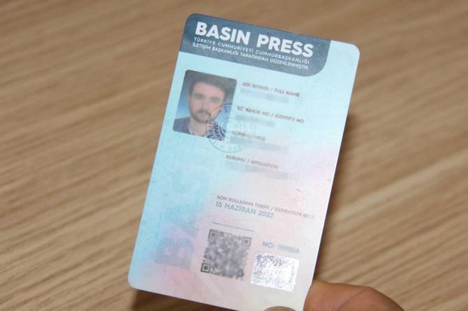 İletişim Başkanı Fahrettin Altun, basın kartlarına ilişkin açıklama yaptı