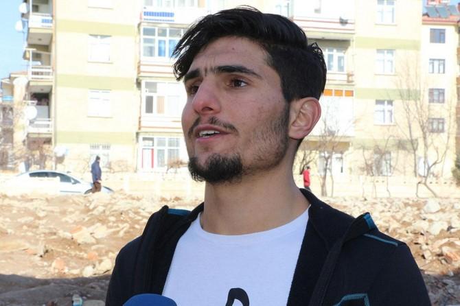 """Depremzedeleri kurtaran Suriyeli Mahmud: """"Ben insanlık görevimi yaptım"""""""