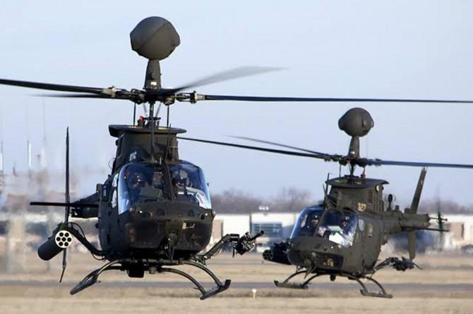 Hırvatistan'da eğitim uçuşu yapan askeri helikopter düştü