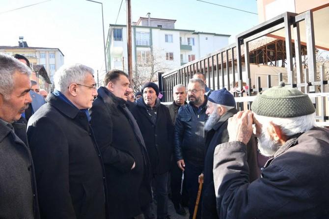 """Malatya Büyükşehir Belediye Başkanı Gürkan: """"Hasar tespit çalışmalarımız sürüyor"""""""