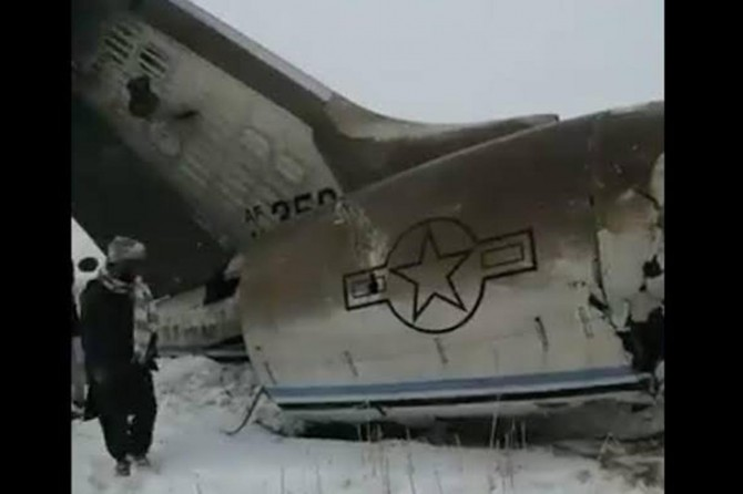 Taliban, Afganistan'da ABD askeri uçağını düşürdüklerini açıkladı