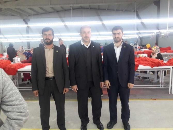 Viranşehir'in ilk tekstil fabrikasının açılışı yapıldı