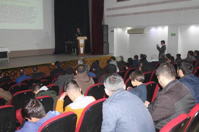 """Şanlıurfa'da """"Uyuşturucu Kullanımı ve Madde Bağımlılığı"""" konulu seminer düzenlendi"""