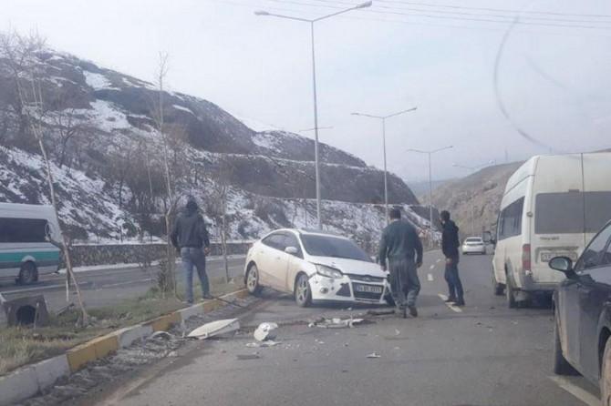 Siirt'te kaza: Bir yaralı