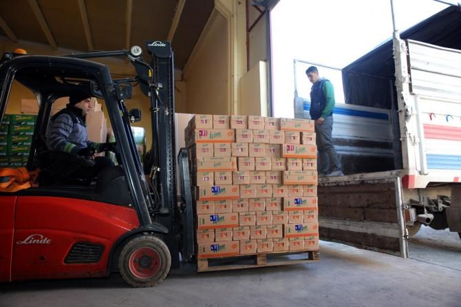 Mardin'den Elazığ'a gıda yardımı