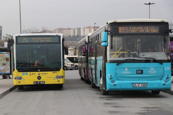 İstanbul Özel Halk Otobüsleri'nden depremzedelere yardım kararı