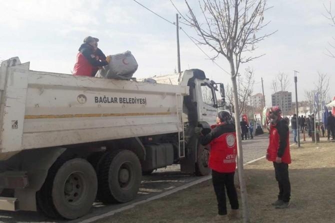 Bağlar Belediyesinden deprem seferberliği